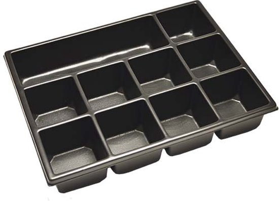 Inlay voor gereedschapskoffers 10 vaks