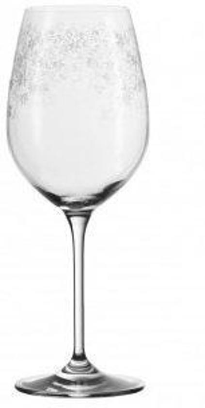 Enormt bol.com | Leonardo Chateau Witte Wijnglas - 0.41 l - 6 stuks GW09