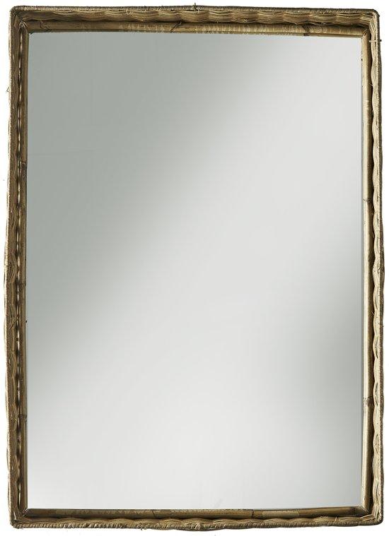 Riviera Maison - Rustic Rattan Mirror - 60 x 40 - Spiegel - Rattan