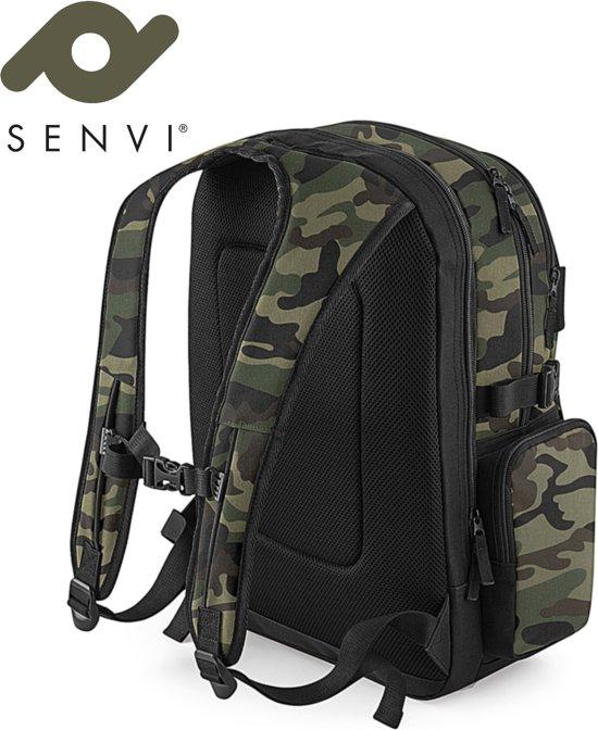 Camouflage Senvi Compressiebanden Kleur Old School backpack Rugzak met wX0TSq4Xn