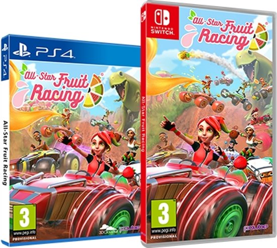 All-Star Fruit Racing /Switch