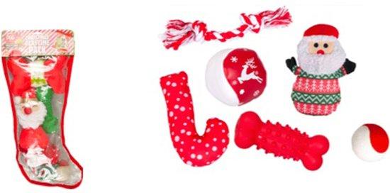 Karlie Flamingo Gevulde Kerstsok Voor Honden