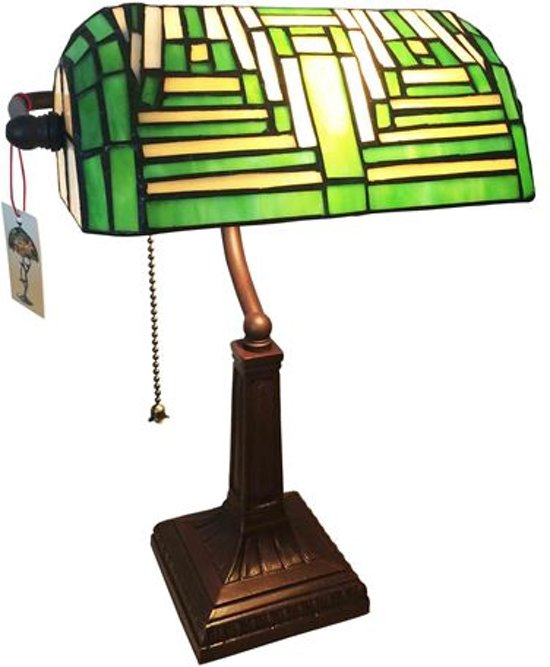 Arcade AL0006 - Tiffany lamp - bureaulamp