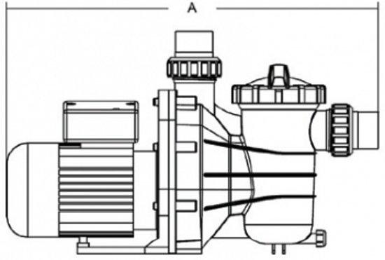 Hydro-S SS075 zwembadpomp