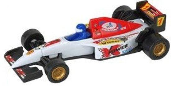 Formule 1 racewagen wit