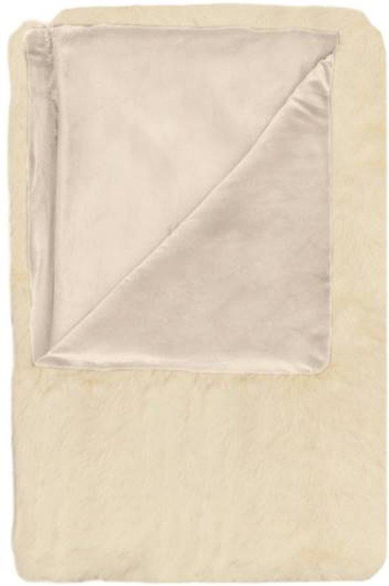 Heckett & Lane Tavi - Plaid - 140x200 cm - Off-white
