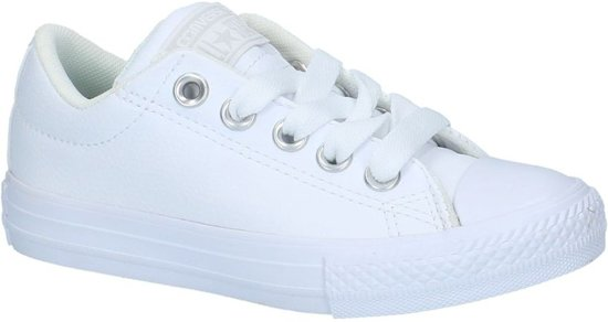 c68564879a7 Lage Converse All Star Street Slip Sneakers White