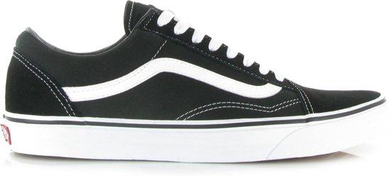 d60eb63cb10 Vans Old Skool Sneakers - Unisex - Zwart/Wit - Maat 35