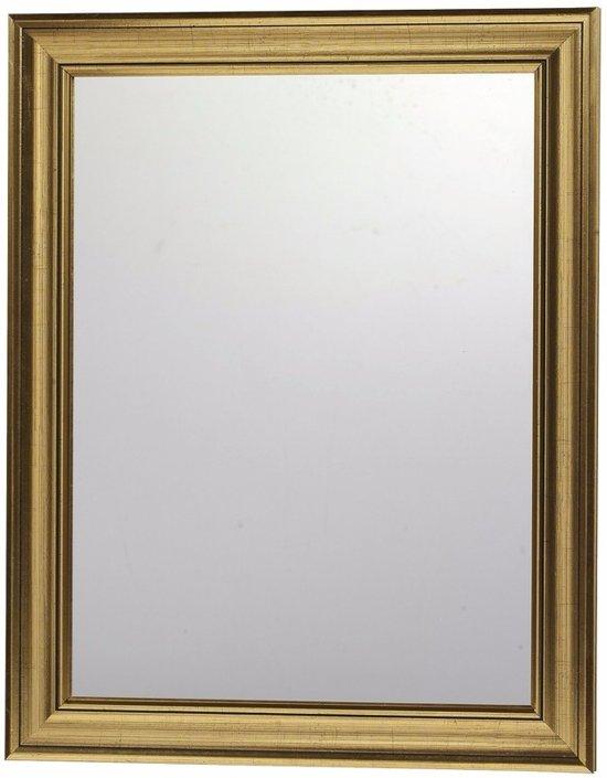 Wandspiegel Met Sierlijst.Bol Com Wandspiegel Met Gouden Sierlijst 30 X 40 Cm