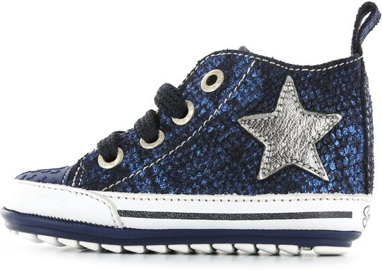 627fd5c9d38 Shoesme Meisjes Baby Sneakers - BLUE - Maat 19