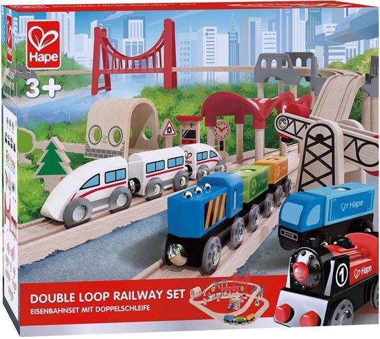 Hape Double Loop Railway Treinset