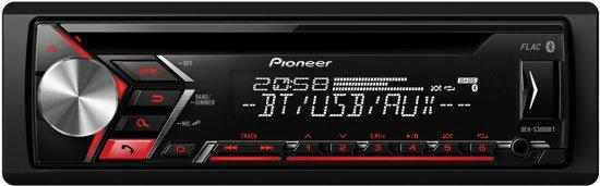 Pioneer DEH-S3000BT Autoradio met Bluetooth, Aux en USB