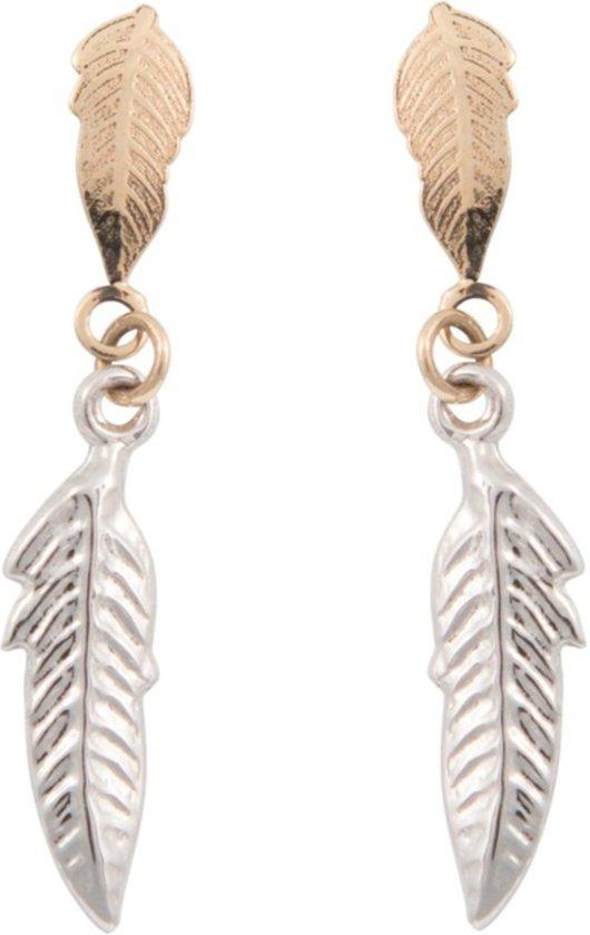 Cataleya Earrings Feather Bicolor