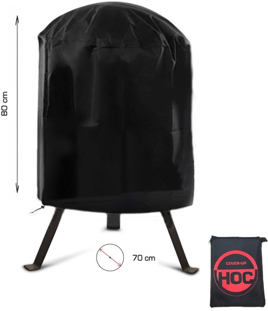 Hoes Voor Bbq.Ronde Bbq Beschermhoes 70x80 Barbecue Hoes Afdekhoes Ronde Bbq