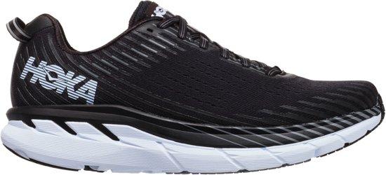 Hoka Clifton 5  Sportschoenen - Maat 44 2/3 - Mannen - zwart/wit