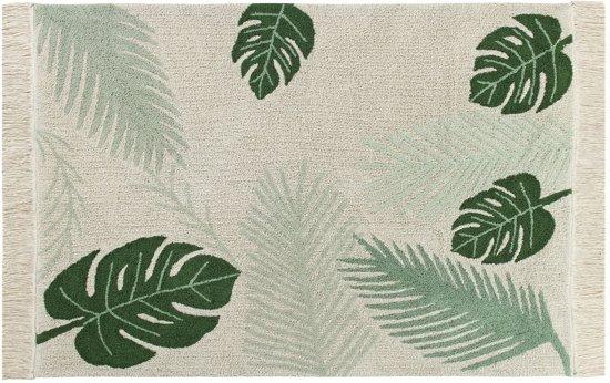 Lorena Canals - Vloerkleed Tropical Green - 140 x 200 cm