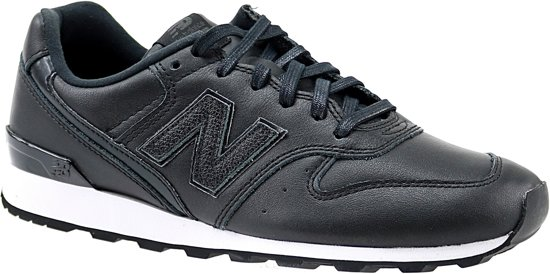 new balance sneakers zwart goud