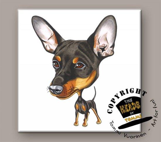 Tegel Hond Miniatuur Pinscher