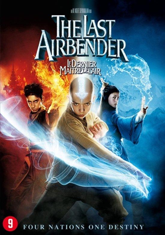 DVD cover van LAST AIRBENDER (D/F)