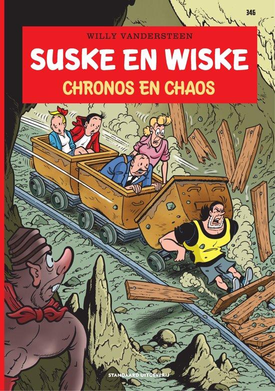 Boek cover Suske en Wiske 346 - Chronos en chaos van Luc Morjaeu
