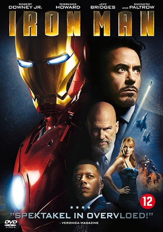 DVD cover van Iron Man