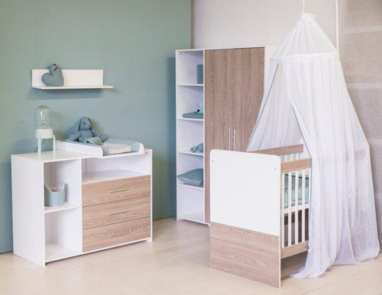 Hoogte Commode Babykamer : Bol.com bebies first babykamer lars 3 delige ledikant
