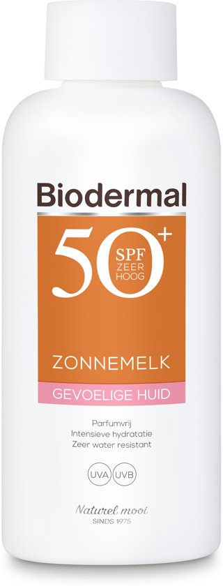 Biodermal zonnem.gev.h spf50+ 200 ml