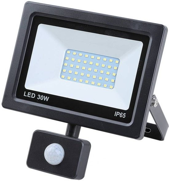 Bekend bol.com   Hofftech LED Straler / Bouwlamp SMD Met Sensor - 30 Watt GK12