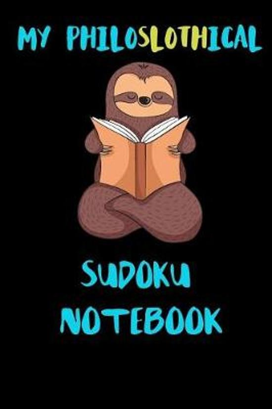 My Philoslothical Sudoku Notebook