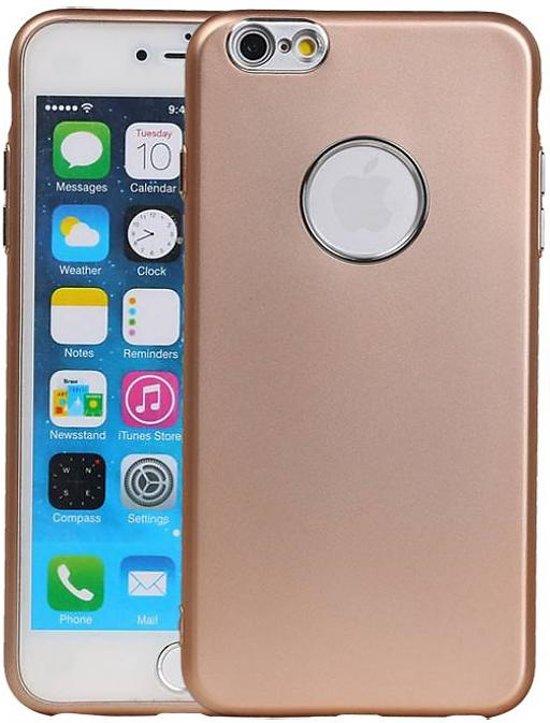 Bolcom Apple Iphone 6 Plus 6s Plus Hoesje Design Tpu Goud