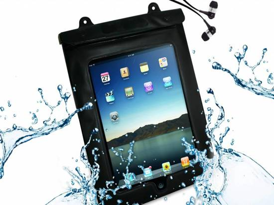 Waterdichte case voor uw Hip Street Electra 9 Inch, transparant , merk i12Cover in Den Bommel