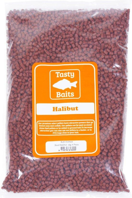 Tasty Baits Red Halibut | 1kg | 4.5mm
