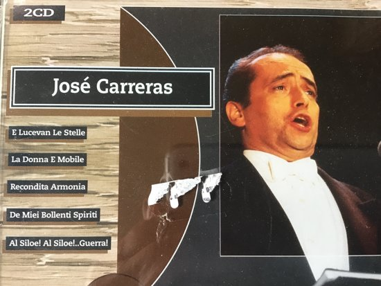 JOSE CARRERAS - THE NATURAL COLLECTION  2CD BOX