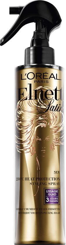 L'Oréal Paris Elnett Satin Heat Protection Spray Glad - 170 ml - Haarlak