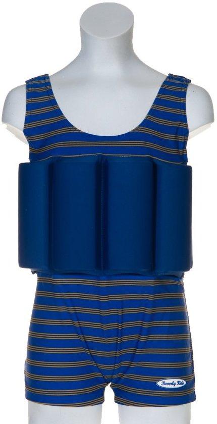Beverly Kids UV drijfpakje Kinderen Cote d'Azur - Blauw - Maat 110