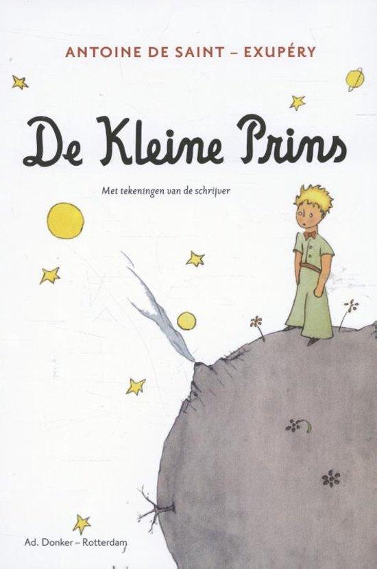 Boek cover De kleine prins van Antoine de Saint-Exupéry (Onbekend)