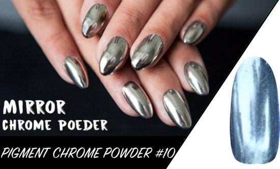 Mirror Chrome Powder - Nagel Poeder Pigment #10