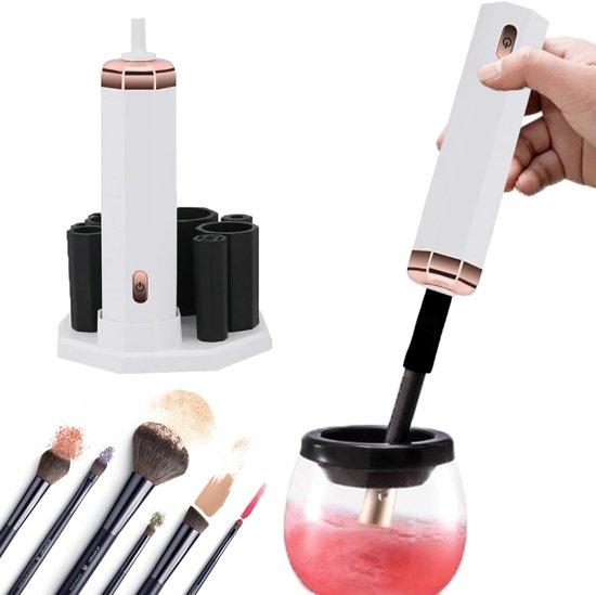 Make-up brush cleaner - Kwastenreinigers - Wit