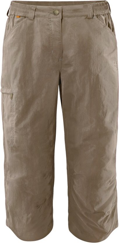Vaude Farley Capri Pants Iv Outdoorbroek Dames - Muddy
