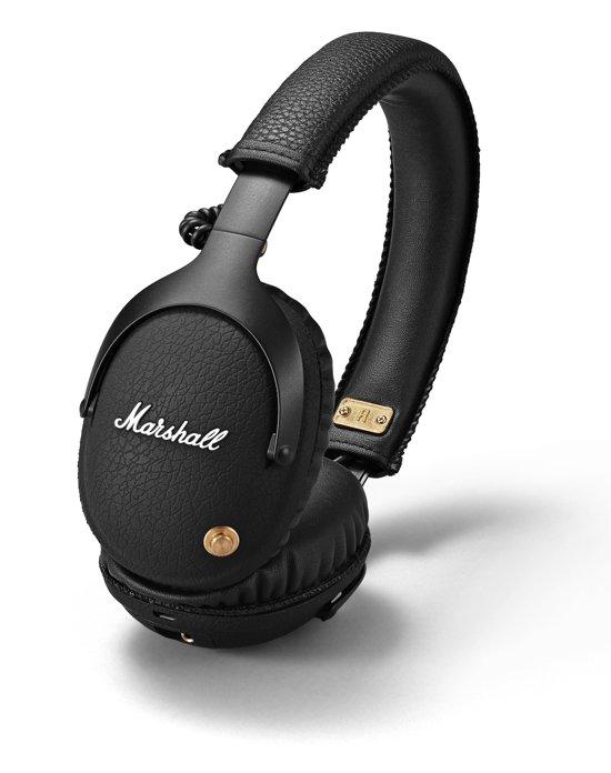 bol | marshall monitor - draadloze over-ear koptelefoon - zwart
