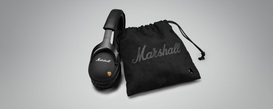 Marshall Monitor Bluetooth Zwart