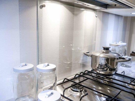 Glazen Spatwand Keuken : Bol glazen keuken achterwand