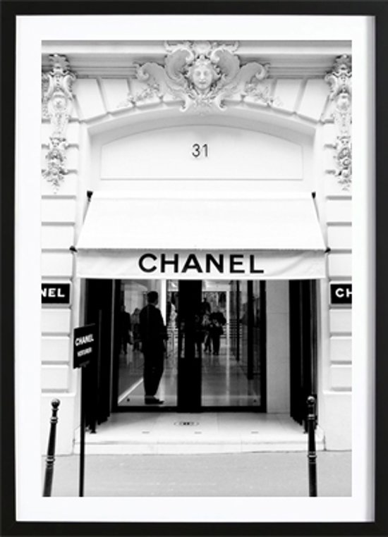 Chanel Store Poster (21x29,7cm) - Fashion - Poster - Print - Wallified