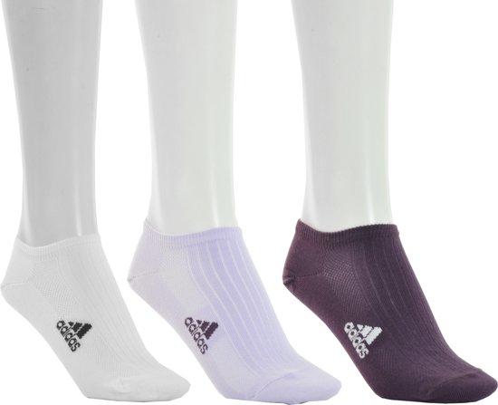 | adidas T Lin Rib Liner 3 Pair Sportsokken