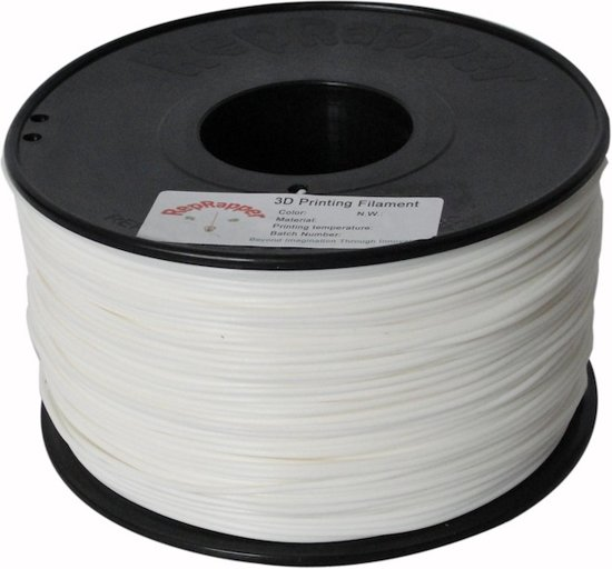 1.75mm wit PLA filament