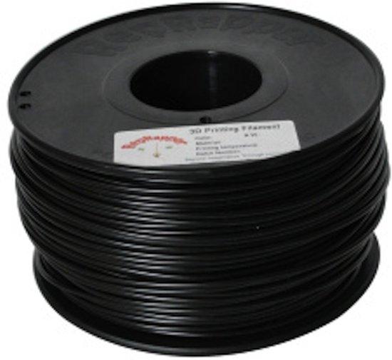3.0mm zwart ABS filament