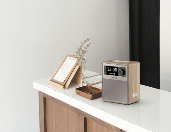 Sonoro EASY - Draagbare DAB+ Radio + Bluetooth - Walnoot