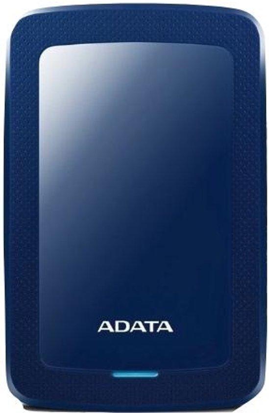 ADATA HDD Ext HV300 1TB Blue externe harde schijf 1000 GB Zwart