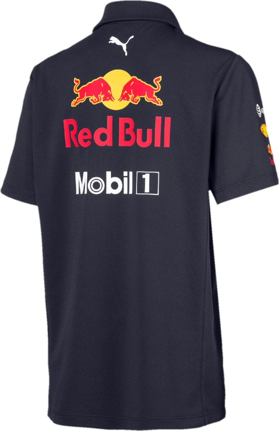 PUMA Red Bull Racing Team Polo Shirt Kinderen - NIGHT SKY - Maat 176