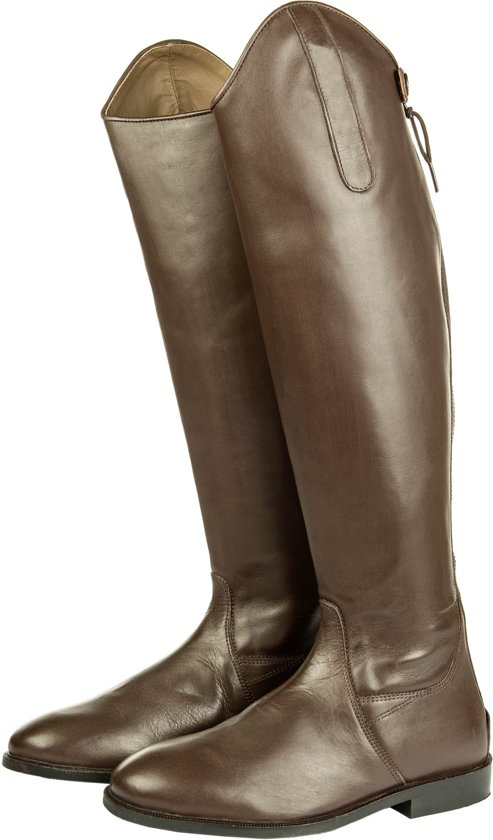 -polo- Botte Équitation, Cuir Souple, Longueur Standard / -wijdte Noir 37